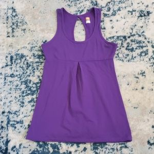 Lucy Tech Keyhole drawstring tank top